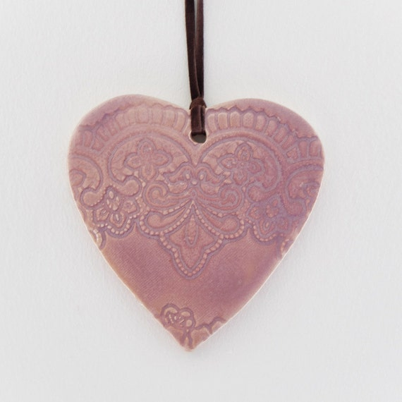 Heart Shape Pink Color Home Decor Wall D 233 Cor Ceramic Good