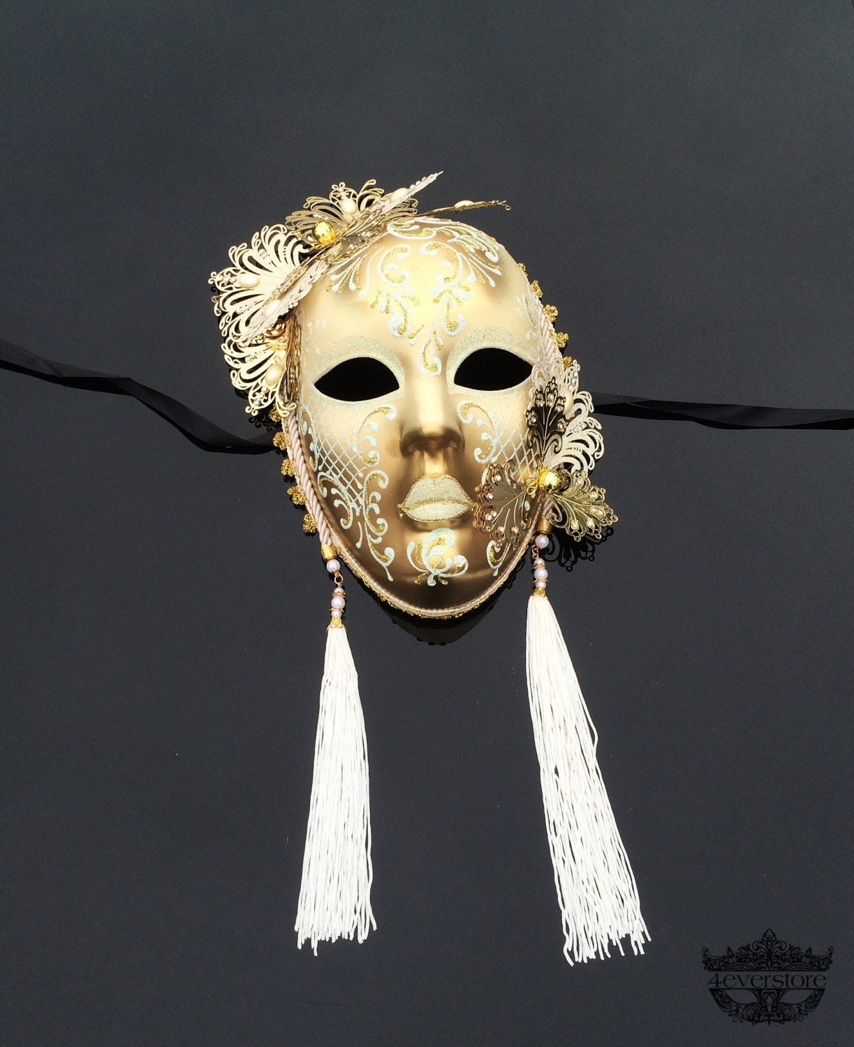 Wall Decoration With Masks : Masquerade mask wall decor ball by
