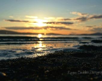 Deception Pass Beach at Sunset