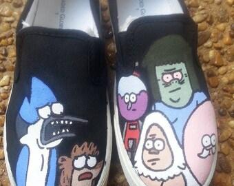 Regular Show Cartoon Shoes