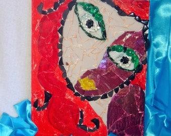 Mosaic Glass Art (Upcycled Glass) - Kaley