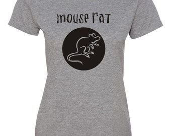 Ladies Mouse Rat band T-Shirt - Parks & Recreation - Chris Pratt