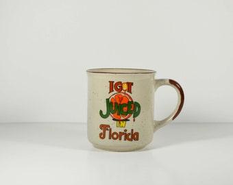 Vintage Florida Ceramic Coffee Mug