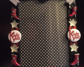 Kinky Boots Broadway Button Picture Frame