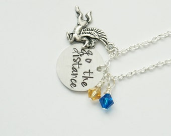 Hercules Inspired Necklace. Go the Distance.