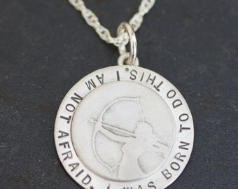 Joan of Arc Strength Necklace