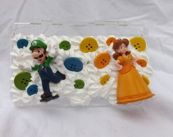 Luigi and Princess Daisy 3DS xL case