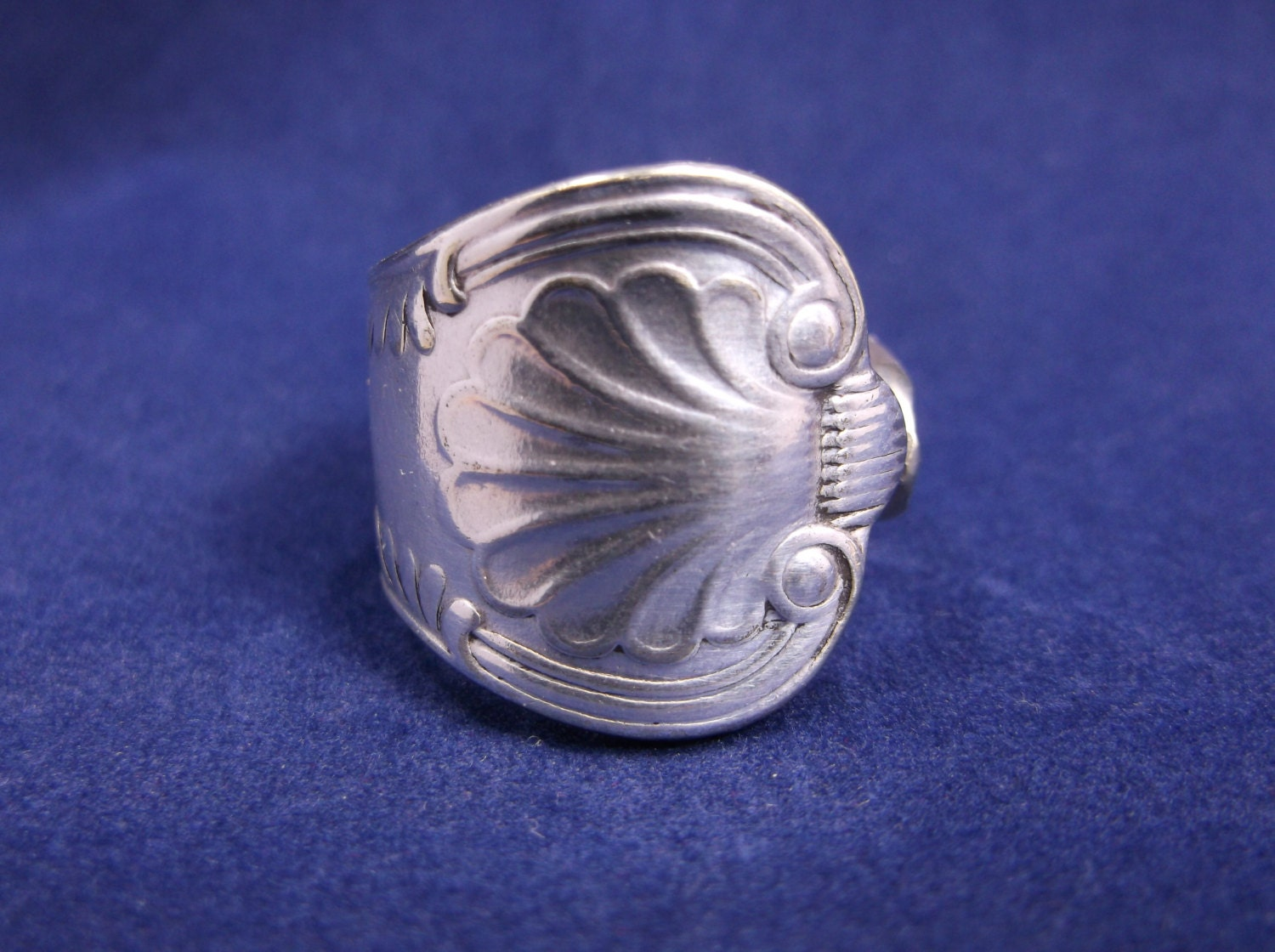 spoon ring 1977 handmade spoon jewelry by