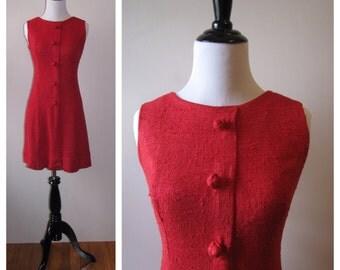 Vintage 1960s Kelly Arden Shift Dress