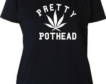 Pretty Pothead T-shirt by Fashionisgreat