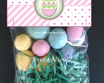Easter bunny treat bag toppers free easter mini milk cartons easter bag toppers easter favors party decorations party favors party gifts negle Gallery