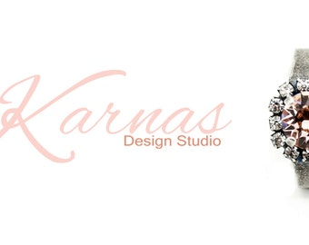 VINTAGE ROSE 8mm Crystal Chaton Adjustable Halo Ring Made With Swarovski Elements *Pick Your Finish *Karnas Design Studio *Free Shipping*