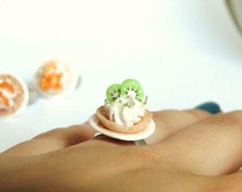 Kiwi Tarte Ring ! For a Tea-Party!