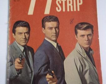 Dell Comics 77 Sunset Strip No. 1211 September-November 1961 Vintage Comic Book VG
