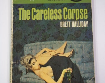 The Careless Corpse a Mike Shayne Mystery by Brett Halliday Dell Books 1962 Vintage Paperback
