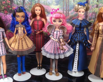 Edwina Printable Steampunk Doll Clothes that fit Barbie, Ever After High, Monster High and more