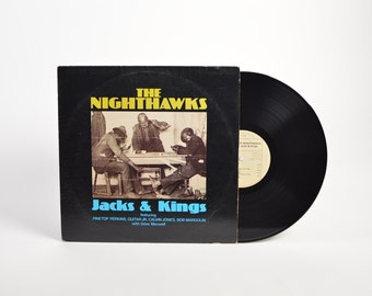 "THE NIGHTHAWKS - ""Jacks & Kings"" vinyl record"