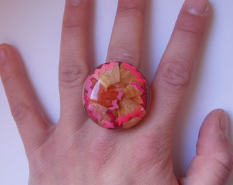 "Ring ""Back to school"" pink Limited Edition!"