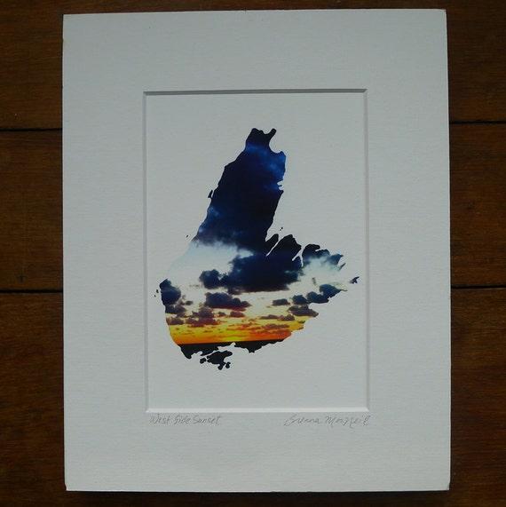 Cape Breton Island – West Side Sunset