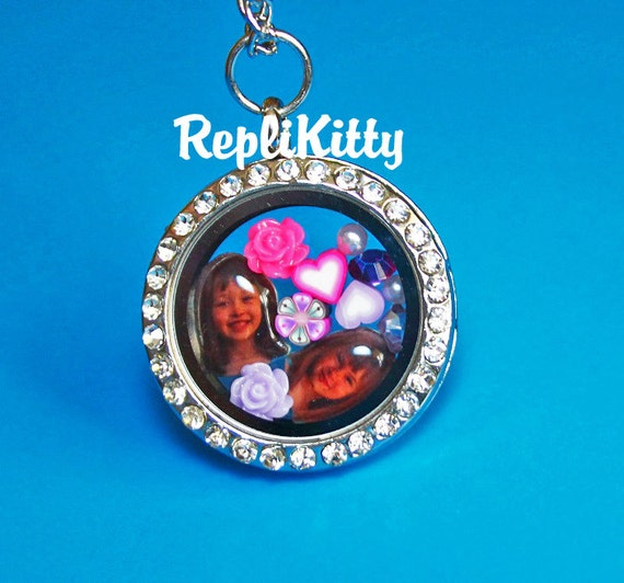 custom photo floating charm design your own made by replikitty