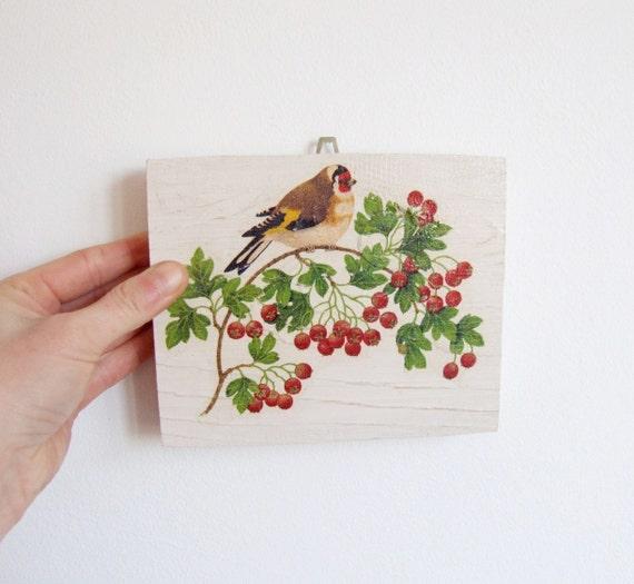Bird On The Branch Rustic Kitchen Decor Birds By Woodlandhut