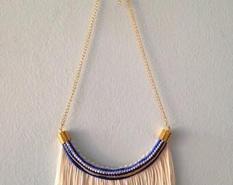 Royal Fringe Rope Necklace