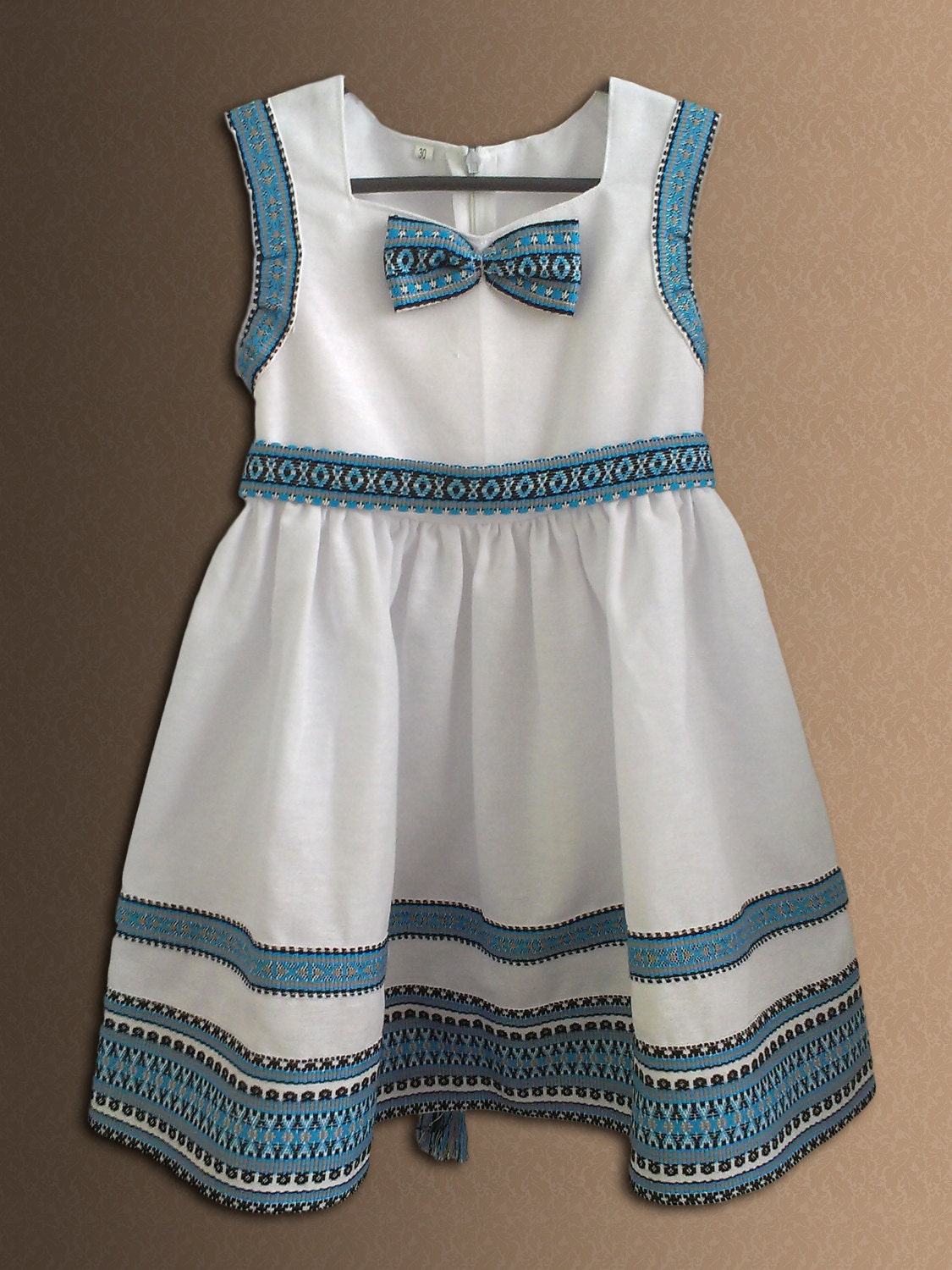 Ukrainian Embroidered Dress For Girls Ukrainian Clothing Folk