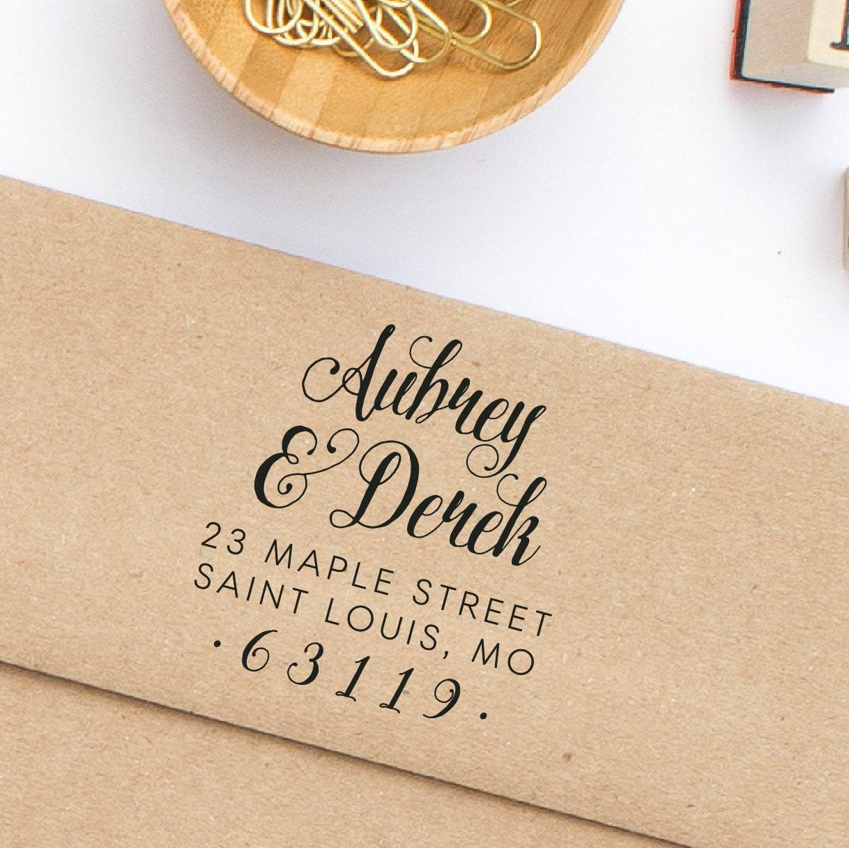 return address stamp wedding invitation address stamp