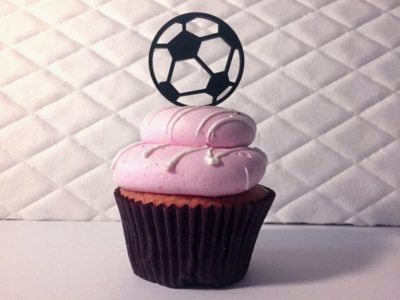 Soccer Cupcake Toppers, Soccer Party, Soccer Birthday, Kid's Soccer Party, Sports Birthday, Sports Party, Boy Party, Futbol Cupcake Topper