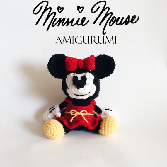 Patron Amigurumi Baby Minnie : Minnie Mouse Amigurumi Crochet Pattern PDF
