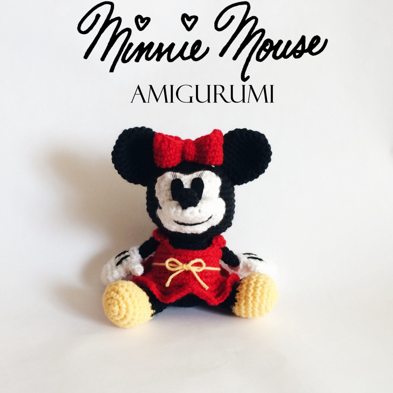 Minnie mouse amigurumi crochet pattern pdf zoom bankloansurffo Choice Image