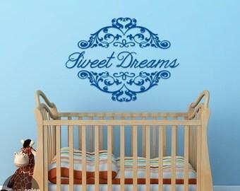 Sweet Dreams Vinyl Wall Decal Sticker Bedroom Nursery