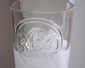 Vodka Bottle Drinking Glass | Bar Accessories | Bar Decor | Water Glass | Drinking Glass | Vodka Glass | Vodka Gift Ideas