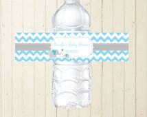 blue bottle labels elephant bottle labels printable bottle labels custom bottle label birthday blue and grey bottle label 118