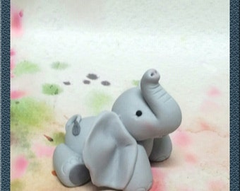 "Elephant Cake Topper ""Ellie Funt"""