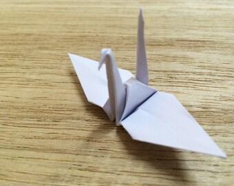 1000 Origami Paper Origami Cranes Origami Paper Cranes white 7.5 cm 3 inches Japanese Wedding