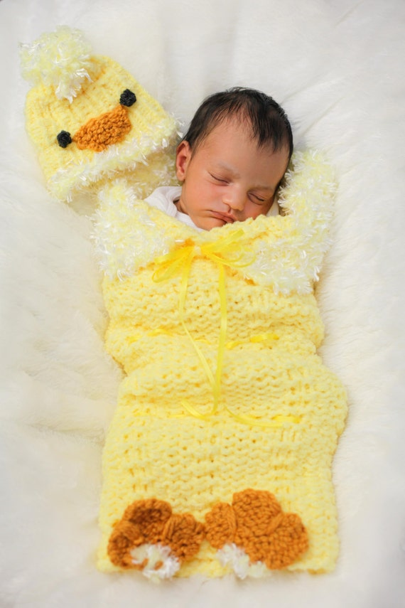 Loom Knit Cocoon for Baby Pattern PATTERN ONLY includes Baby