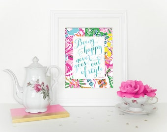 preppy pineapple home decor lilly pulitzer by