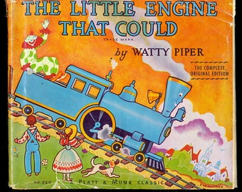 1964 The Little Engine that Could - Watty Piper with dustjacket