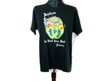 Vintage T-Shirt Positron Emission Tomography Can Read Your Mind Syncor 1991