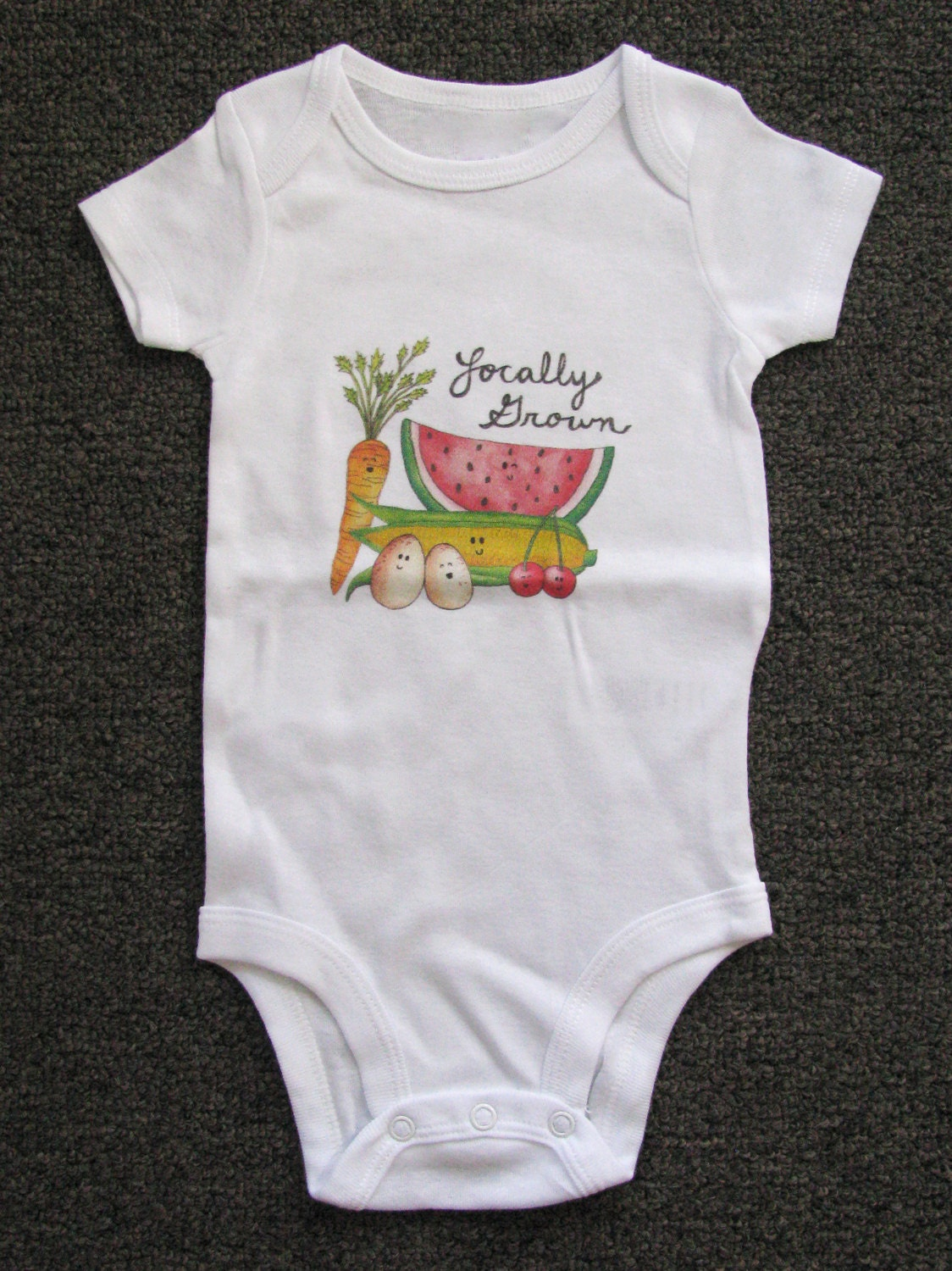 Cute Baby bodysuit Unique Baby clothes Baby Farm Clothes - photo#37