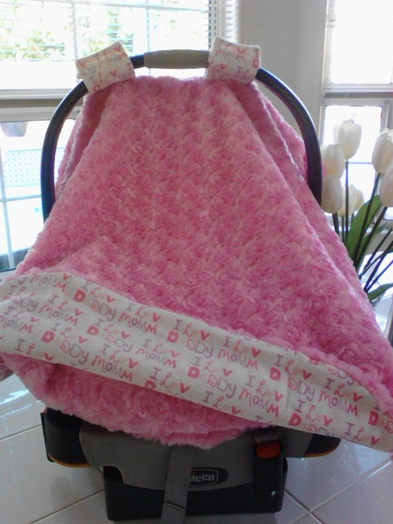 infant car seat canopy with matching blanket by qualitycarescrubs. Black Bedroom Furniture Sets. Home Design Ideas