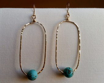 Turquoise Earrings Dangle, Turqoise Earrings Gold, Turquoise Earrings Sterling Silver, Turquoise Jewelry, Turquoise Drop Earrings, Turquoise