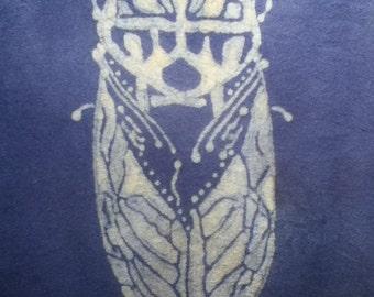 Cicada Custom Batik Tshirt