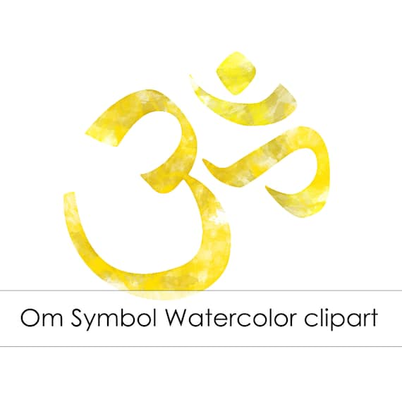 Commercial use instant download golden om symbol Om symbol images download