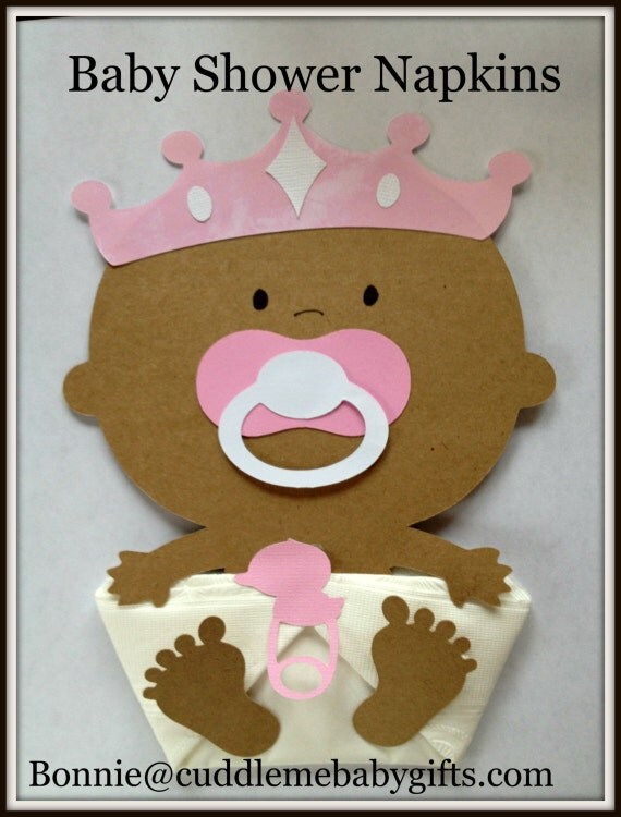 Items similar to African American Princess Baby Shower ...