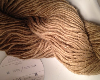 Noro Solid (100%) Silk DK weight yarn (109 tan)
