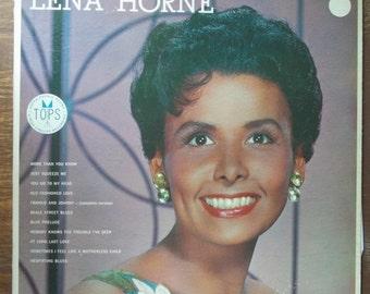 Lena Horne, Self-Title Record Album, Vintage Vinyl Record, Jazz Singer, Cotton Club, American Singer, Big Band Era, Swing Music, Ballads