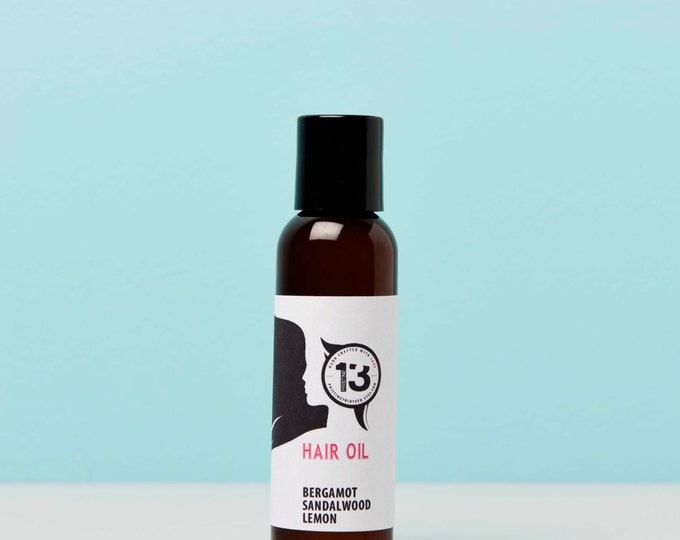 Bergamot, Sandalwood and Lemon Hair Conditioning Oil