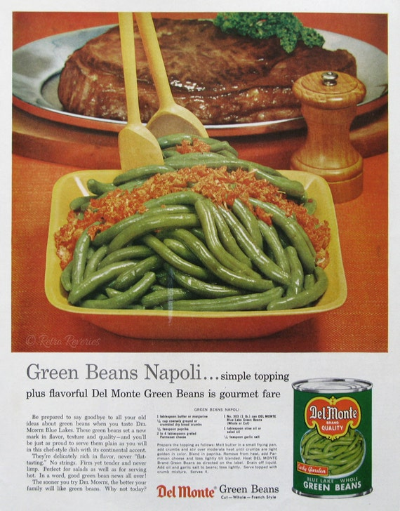 how to cook del monte green beans